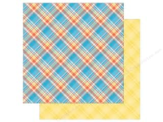 Photo Play Collection  Made 4 Plaid Happy Paper 12 in. x 12 in. Plaid (25 pieces)