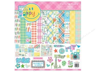 Photo Play Collection  Made 4 Plaid Happy Collection Pack 12 in. x 12 in.