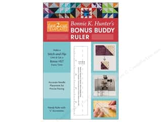 ruler: C&T Publishing Fast2Cut Ruler Bonnie K Hunter's Bonus Buddy