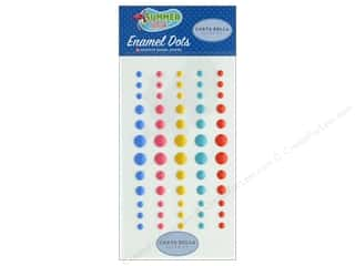 summer splash: Carta Bella Collection Summer Splash Enamel Dots