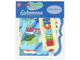summer splash: Carta Bella Collection Summer Splash Ephemera