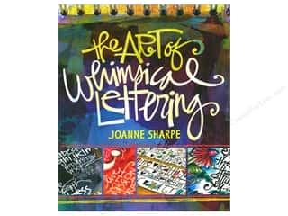 Clearance: Interweave Press Art Of Whimsical Lettering Book