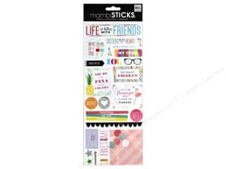 scrapbooking & paper crafts: Me&My Big Ideas Sticker Sticks Specialty Life Is Better With Friends