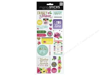 scrapbooking & paper crafts: Me&My Big Ideas Sticker Sticks Specialty Family Is Forever