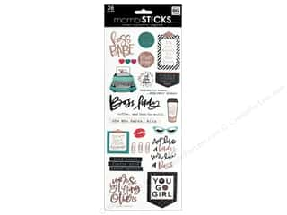 scrapbooking & paper crafts: Me&My Big Ideas Sticker Sticks Specialty Boss Babe