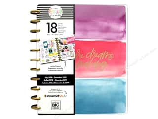 Me&My Big Ideas Collection Create 365 Happy Planner Big 18 Month Day To Start 2018/2019
