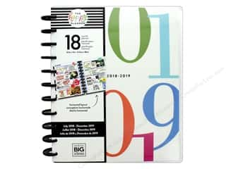 Me&My Big Ideas Collection Create 365 Happy Planner Big 18 Month Colorblock #s