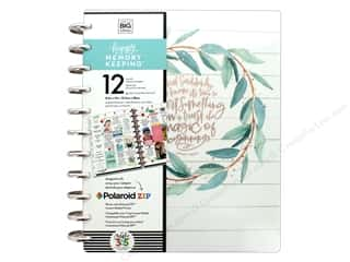 Happy Planner: Me&My Big Ideas Happy Memory Keeping Planner Big Rustic