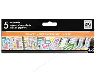 scrapbooking & paper crafts: Me&My Big Ideas Collection Create 365 Happy Planner Sticker Roll Travel