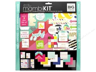 patterned paper kit: Me&My Big Ideas Page Kit Scrapbook 12 in. x 12 in. Brights