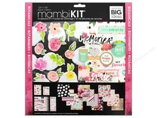 Me&My Big Ideas Page Kit Scrapbook 12 in. x 12 in. Botanicals