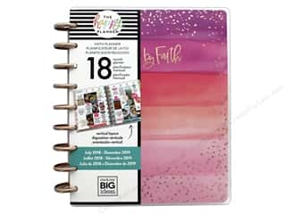 Me&My Big Ideas Collection Create 365 Happy Planner Medium 18 Month Walk By Faith 2018/2019