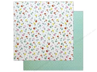 American Crafts Dear Lizzy Stay Colorful 12 in. x 12 in. Flower Child