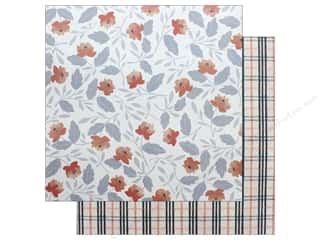 American Crafts One Canoe Two Twilight Paper 12 in. x 12 in. Twilight Blooms