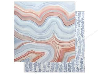 American Crafts One Canoe Two Twilight Paper 12 in. x 12 in. Marble
