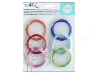 We R Memory Keepers Happy Jig Color Wire 6 pc. Colored