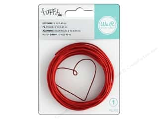 We R Memory Keepers Happy Jig Color Wire 6 yd. Red