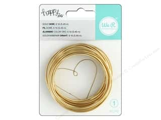 scrapbooking & paper crafts: We R Memory Keepers Happy Jig Color Wire 6 yd. Gold