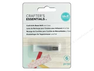 craft knife: We R Memory Keepers Craft Knife Replacement Blades 5 pc.