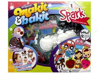 Colorbok Makit & Bakit Spark Combo Kit 12 pc.