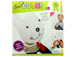novelties: Colorbok Kit Sew Cute Kit Sock Buddy Bunny
