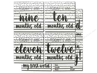 "scrapbooking & paper crafts: Reminisce Modern Baby Paper 12""x 12"" First Year Too (25 pieces)"