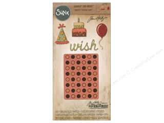 die cuts: Sizzix Die & Emboss Folder Tim Holtz Sidekick Birthday