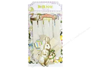 die cuts: Bo Bunny Collection Cottontail Noteworthy