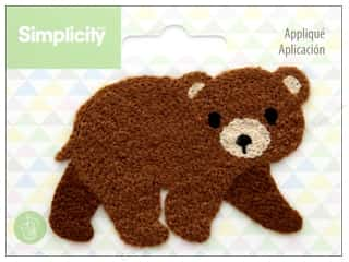 sewing & quilting: Simplicity Applique Sew On Bear
