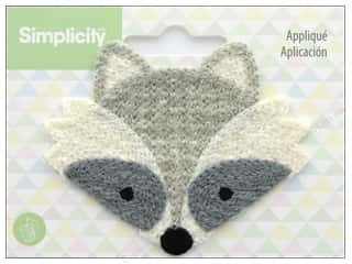 Clearance: Simplicity Applique Sew On Raccoon