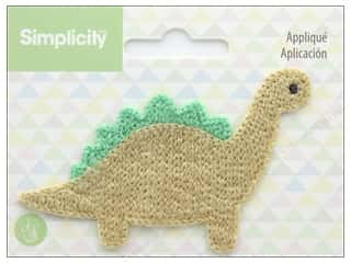 sewing & quilting: Simplicity Applique Sew On Dinosaur