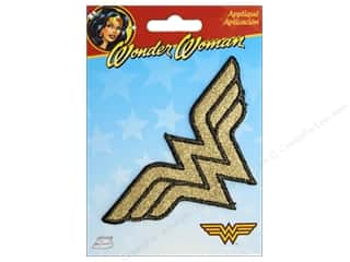 Simplicity Applique Iron On Wonder Woman Shimmer