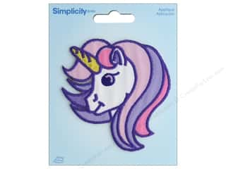 sewing & quilting: Simplicity Applique Iron On Unicorn