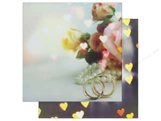 Reminisce Modern Wedding Paper 12 in. x 12 in. True Love (25 pieces)