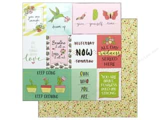 Clearance: Photo Play Spread Your Wings Paper 12 in. x 12 in. Grow (25 pieces)