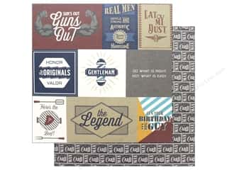 Photo Play Collection Man Card Paper 12 in. x 12 in. Real Men (25 pieces)
