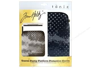 stamps: Tonic Studios Tools Tim Holtz Travel Stamp Platform Sleeve