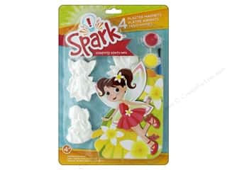 resin: Colorbok Kit Spark Plaster Magnet Fairy Dust