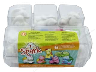 resin: Colorbok Kit Spark Plaster Value Pack Ponies