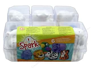 resin: Colorbok Kit Spark Plaster Value Pack Zoo