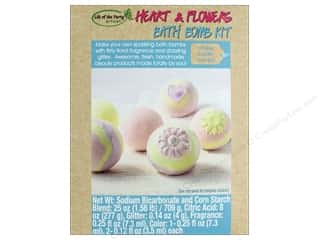 craft & hobbies: Life Of The Party Kit Bath Bomb Hearts And Flowers