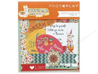 die cuts: Photo Play Collection Paprika Die Cut Pack