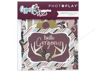 die cuts: Photo Play Collection Gypsy Rose Die Cut Pack