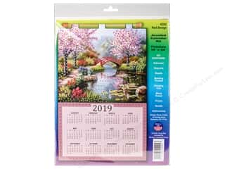yarn & needlework: Design Works Kit Sequin Calendar 2019 Red Bridge