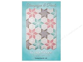 Clearance: Krista Moser Champagne And Pearls Pattern