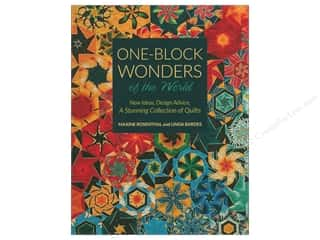 books & patterns: C&T Publishing One Block Wonders Of The World Book
