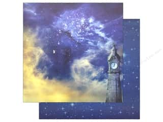 Cardstock: Reminisce Collection Real Magic Paper 12 in. x 12 in. Never Grow Up (25 pieces)
