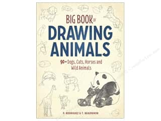 North Light Big Book Of Drawing Animals Book