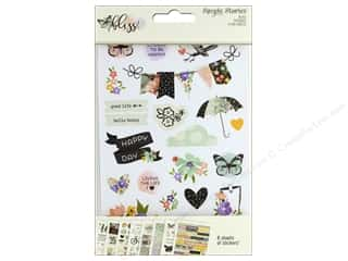 stickers: Simple Stories Collection Bliss Sticker 4 in. x 6 in.