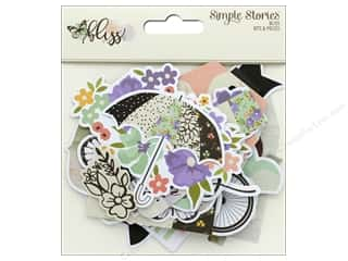 scrapbooking & paper crafts: Simple Stories Collection Bliss Bits & Pieces